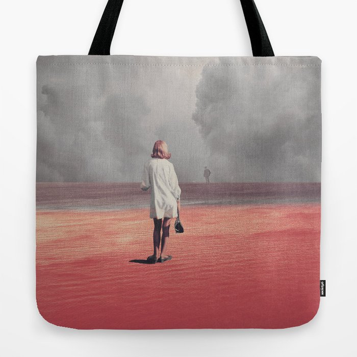 Watching you Leave me. Didn't want to Tote Bag