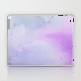 Soft Watercolours - Lavendar Laptop & iPad Skin