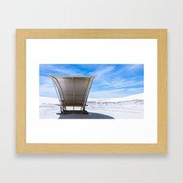 White Sands Shade ll Framed Art Print