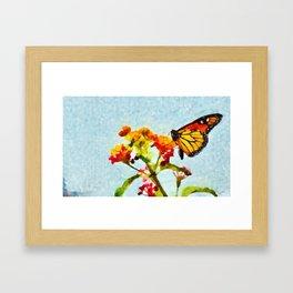 O Voo mais Belo Framed Art Print