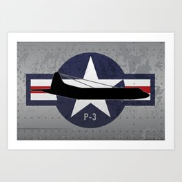 P-3 Orion Art Print