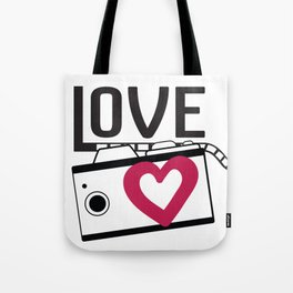 lave camera_film Tote Bag
