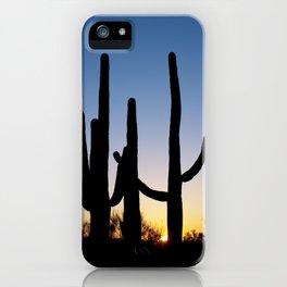Carol M Highsmith - Saguaro Cactus near Tucson, Arizona 3 iPhone Case