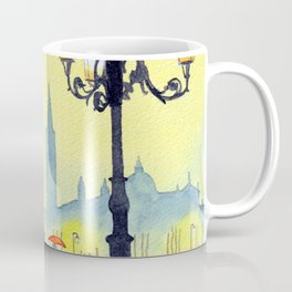 Rainy Evening In St Marks Square Venice Coffee Mug