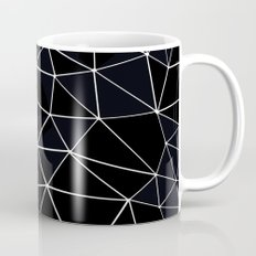 Segment Zoom Black and White Mug