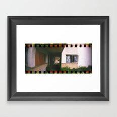 Forgotten Hotel Framed Art Print