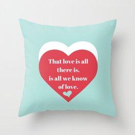 Saint Valentine's Day Throw Pillow