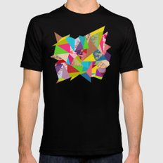 Colorful Thoughts Mens Fitted Tee Black MEDIUM
