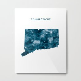Connecticut Metal Print