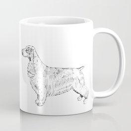 Spaniel Ink Drawing Coffee Mug