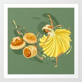 Pineapple Tart Art Print