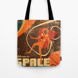 Welcome to Space Tote Bag