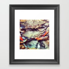 Crabby Patty Framed Art Print