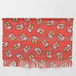 Lucky Pig Pattern Wall Hanging