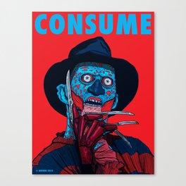 CONSUME: FREDDY KRUEGER Canvas Print