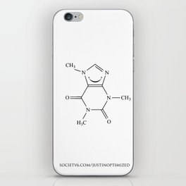 Caffeinated Happiness iPhone Skin