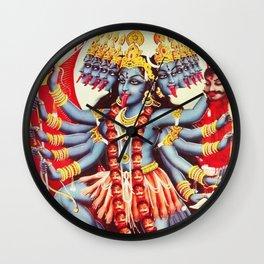 Hindu Kali 11 Wall Clock