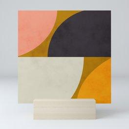 geometric art III Mini Art Print
