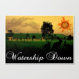 Watership Down Canvas Print