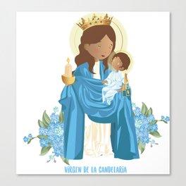Virgin of la Candelaria Canvas Print