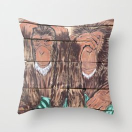 Scream if You Dare Throw Pillow