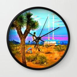 Landing in Landers Wall Clock
