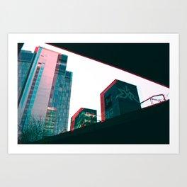 Geometry in a City Art Print