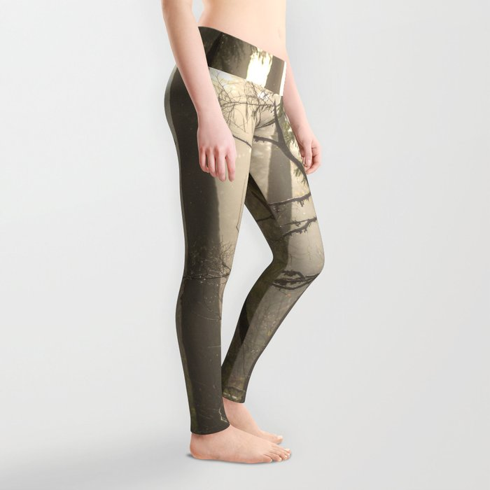 Sunrise Forest Adventure Leggings
