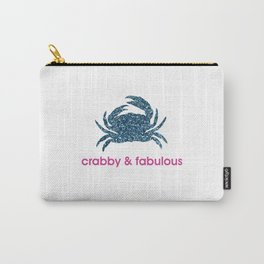 Crabby & fabulous Carry-All Pouch