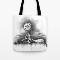 chuck Tote Bags featuring The Chuck by Chad Wehrle