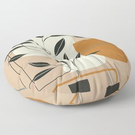 Abstract Shapes 06 Floor Pillow