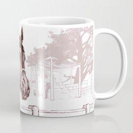 Stare of The Stallion Coffee Mug