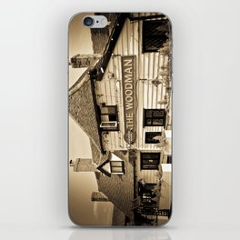 The Woodman Pub iPhone Skin