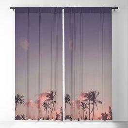 Elbow Beach Sunset Blackout Curtain