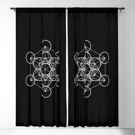 Metatron's Cube II Blackout Curtain