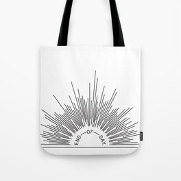End of Day – rays Tote Bag