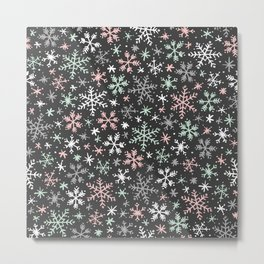 Snow Flurry Metal Print