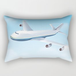 See America - Fly today! Poster Rectangular Pillow