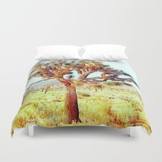 Joshua Tree VG Hills by CREYES Duvet Cover