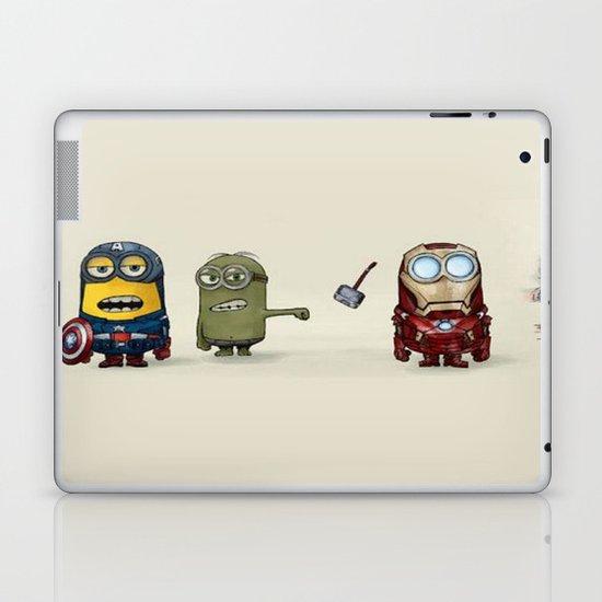 Minion Avengers Laptop & iPad Skin
