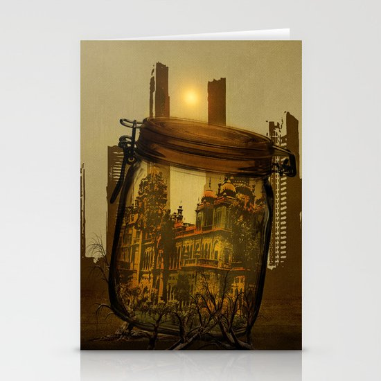 The last vintage city. Stationery Cards