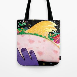"""""""Cocó´s Surfing safary"""" Tote Bag"""
