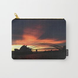 Sunset in Sydney Carry-All Pouch