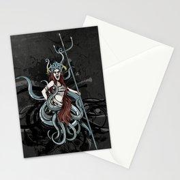 Octopus Medusa Stationery Cards