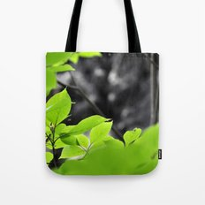 Green & Gray Tote Bag