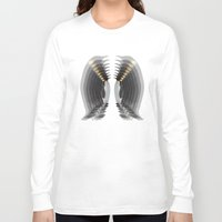 penguins Long Sleeve T-shirts featuring Penguins by AmDuf