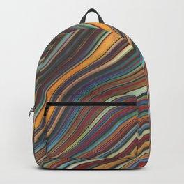 Wild Wavy Lines XXI Backpack