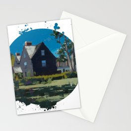 House of Seven Gables - Kevin Kusiolek Stationery Cards
