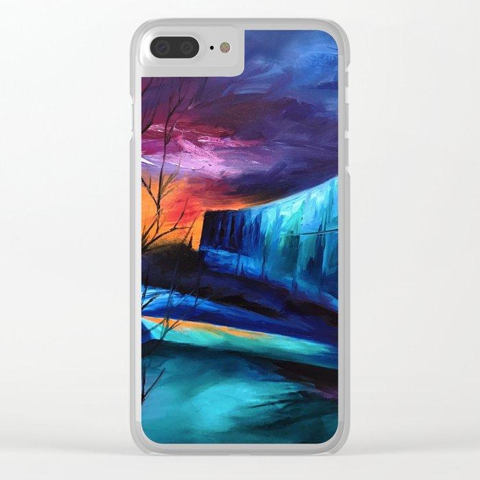 """KTSA"" Painting Clear iPhone Case"