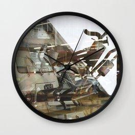Car Emissions - overlapper Wall Clock